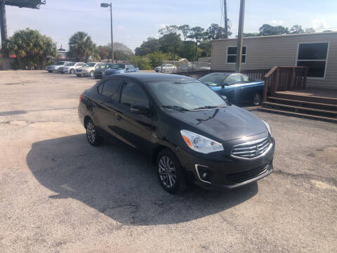 2018 Mitsubishi Mirage G4 for sale at Friendly Finance Auto Sales in Port Richey FL