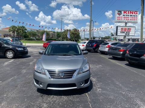 2013 Nissan Sentra for sale at King Auto Deals in Longwood FL