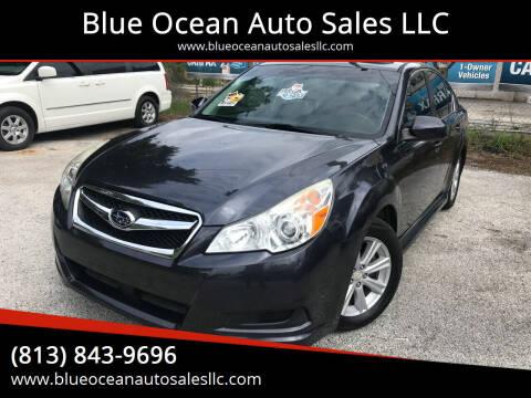 2010 Subaru Legacy for sale at Blue Ocean Auto Sales LLC in Tampa FL