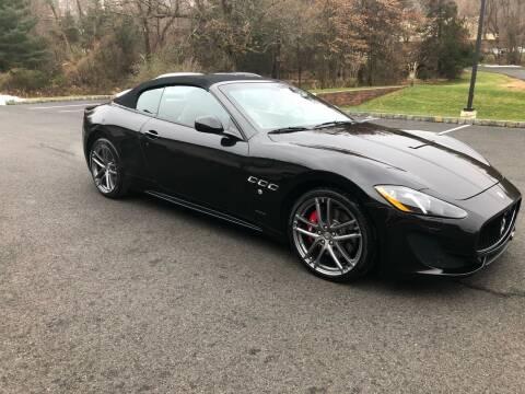 2015 Maserati GranTurismo for sale at Shedlock Motor Cars LLC in Warren NJ