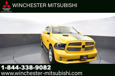 2016 RAM Ram Pickup 1500 for sale at Winchester Mitsubishi in Winchester VA