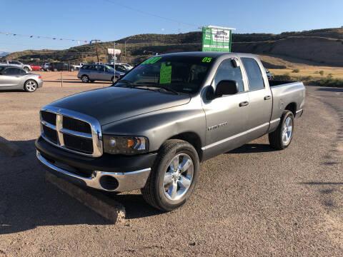 2005 Dodge Ram Pickup 1500 for sale at Hilltop Motors in Globe AZ
