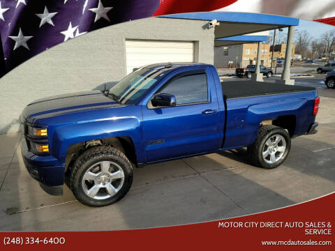2014 Chevrolet Silverado 1500 for sale at Motor City Direct Auto Sales & Service in Pontiac MI