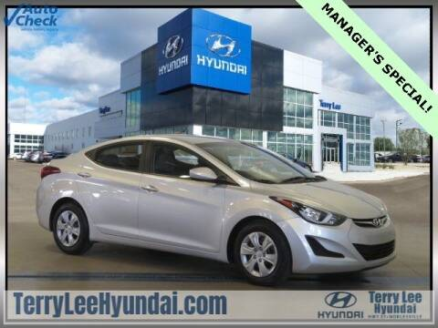2016 Hyundai Elantra for sale at Terry Lee Hyundai in Noblesville IN