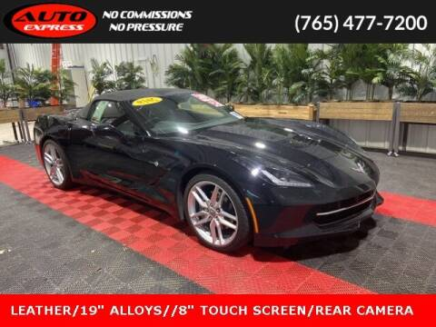 2019 Chevrolet Corvette for sale at Auto Express in Lafayette IN