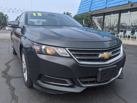 2015 Chevrolet Impala for sale at GREAT DEALS ON WHEELS in Michigan City IN