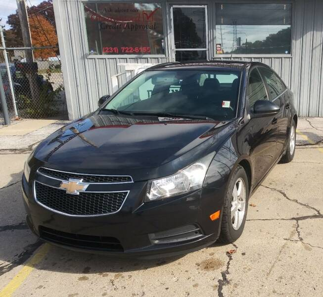 2012 Chevrolet Cruze for sale at Wicked Motorsports in Muskegon MI