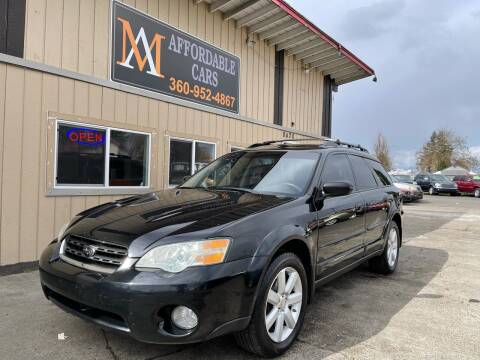 2007 Subaru Outback for sale at M & A Affordable Cars in Vancouver WA