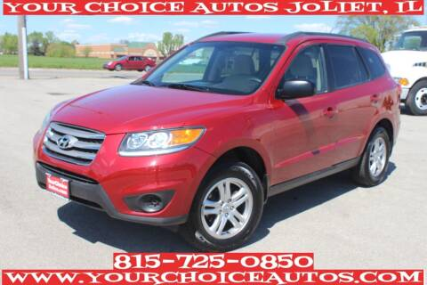 2012 Hyundai Santa Fe for sale at Your Choice Autos - Joliet in Joliet IL