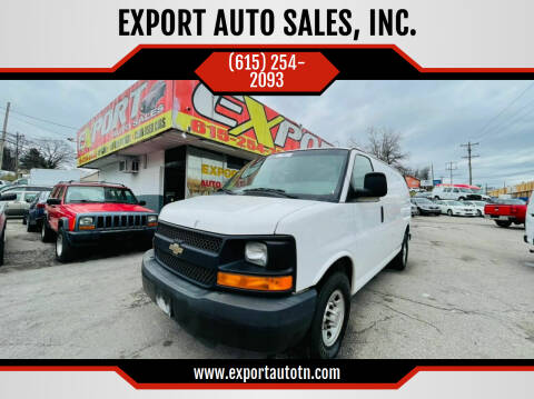 2013 Chevrolet Express Cargo for sale at EXPORT AUTO SALES, INC. in Nashville TN