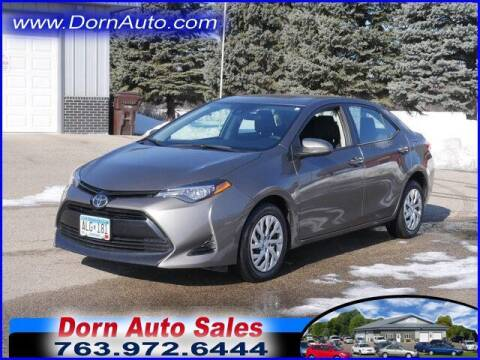 2018 Toyota Corolla for sale at Jim Dorn Auto Sales in Delano MN