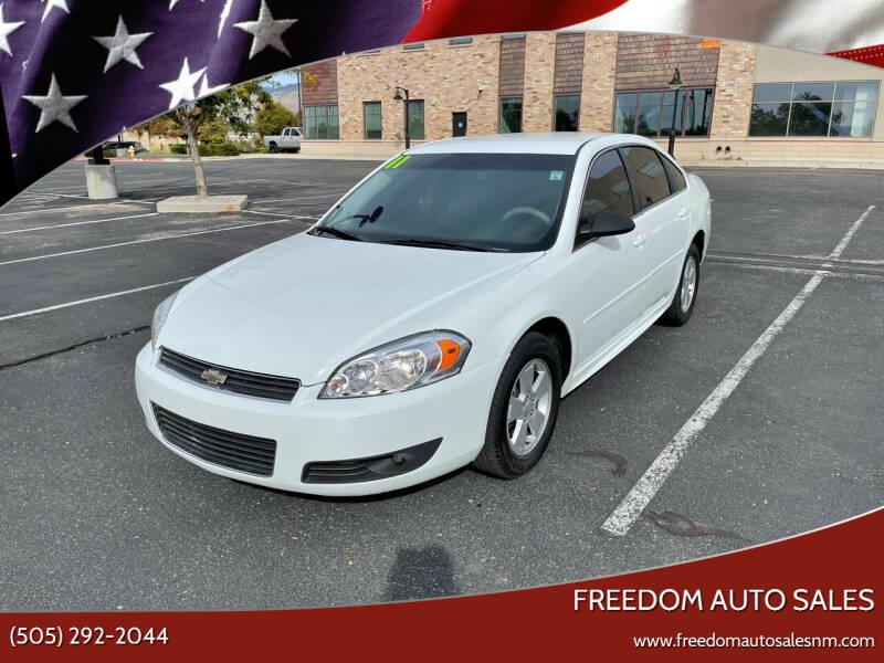 2011 Chevrolet Impala for sale at Freedom Auto Sales in Albuquerque NM