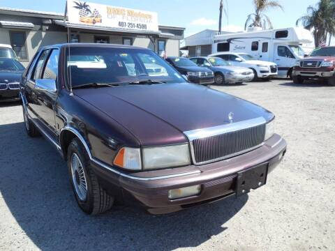 1991 Chrysler Le Baron for sale at DMC Motors of Florida in Orlando FL