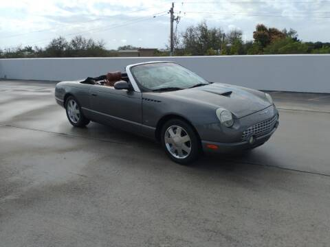 2003 Ford Thunderbird for sale at LAND & SEA BROKERS INC in Deerfield FL