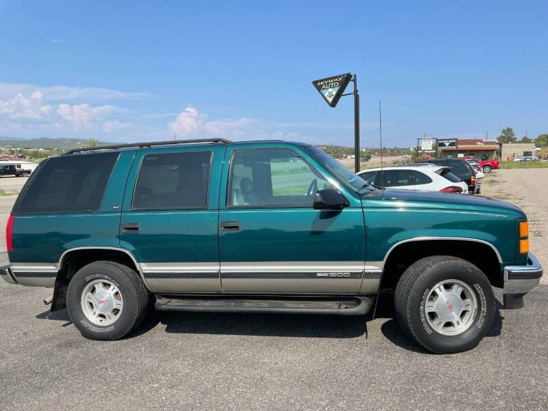 1999 GMC Yukon for sale at Skyway Auto INC in Durango CO
