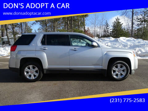 2010 GMC Terrain for sale at DON'S ADOPT A CAR in Cadillac MI