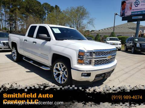 2014 Chevrolet Silverado 1500 for sale at Smithfield Auto Center LLC in Smithfield NC