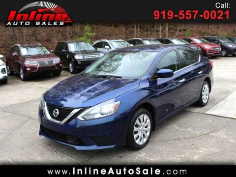 2019 Nissan Sentra for sale at Inline Auto Sales in Fuquay Varina NC