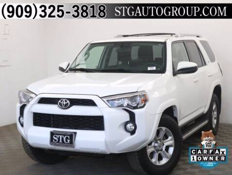 2015 Toyota 4Runner for sale at STG Auto Group in Montclair CA