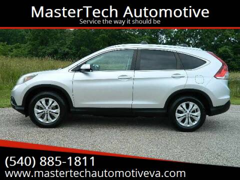 2013 Honda CR-V for sale at MasterTech Automotive in Staunton VA