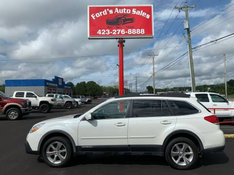 2014 Subaru Outback for sale at Ford's Auto Sales in Kingsport TN