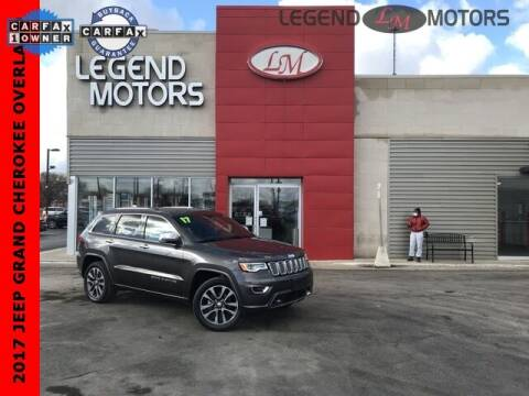 2017 Jeep Grand Cherokee for sale at Legend Motors of Detroit - Legend Motors of Ferndale in Ferndale MI