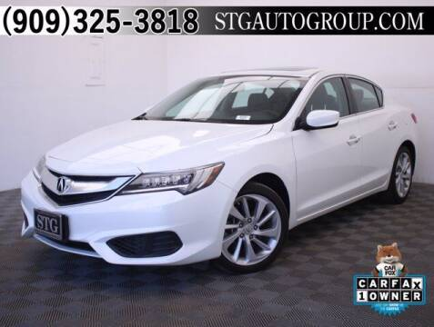2018 Acura ILX for sale at STG Auto Group in Montclair CA
