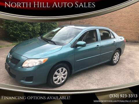 2010 Toyota Corolla for sale at North Hill Auto Sales in Akron OH