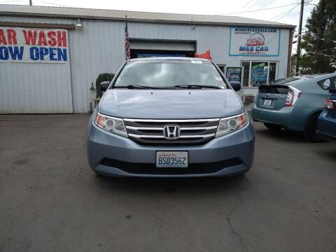 2011 Honda Odyssey for sale at M AND S CAR SALES LLC in Independence OR