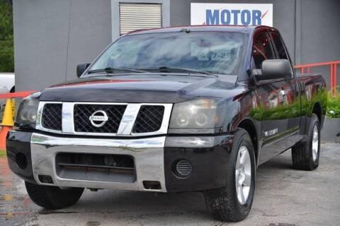 2006 Nissan Titan for sale at Motor Car Concepts II - Kirkman Location in Orlando FL