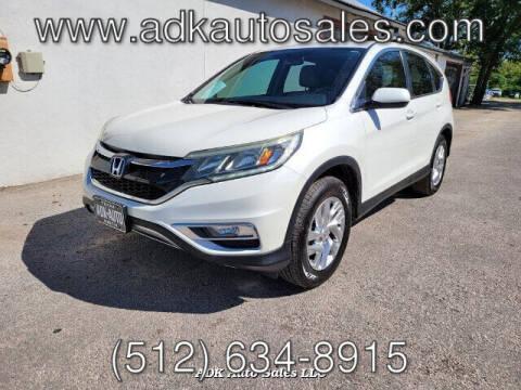 2015 Honda CR-V for sale at ADK AUTO SALES LLC in Austin TX