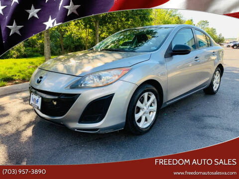2011 Mazda MAZDA3 for sale at Freedom Auto Sales in Chantilly VA