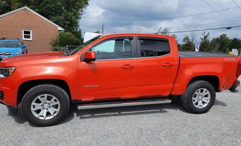 2016 Chevrolet Colorado for sale at 220 Auto Sales in Rocky Mount VA