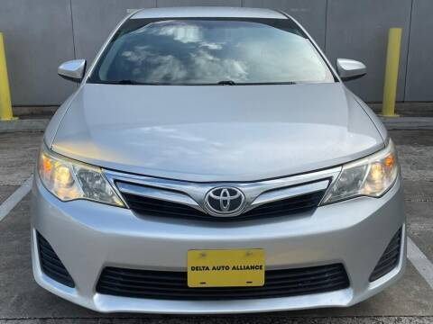 2012 Toyota Camry for sale at Delta Auto Alliance in Houston TX