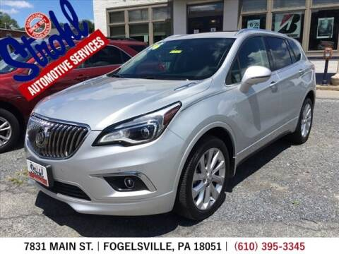 2016 Buick Envision for sale at Strohl Automotive Services in Fogelsville PA