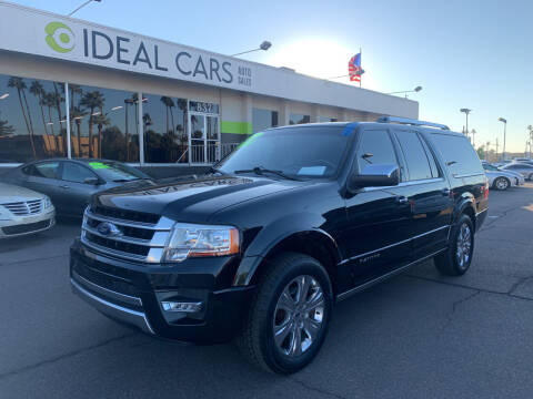 2015 Ford Expedition EL for sale at Ideal Cars in Mesa AZ