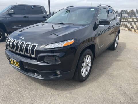 2016 Jeep Cherokee for sale at Soledad Auto Sales in Soledad CA