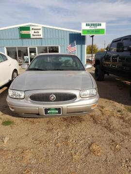 2004 Buick LeSabre for sale at HALVORSON AUTO in Cooperstown ND