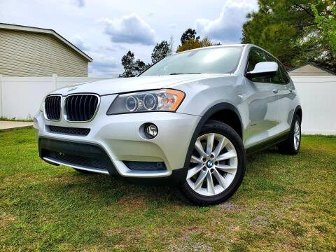 2013 BMW X3 for sale at Real Deals of Florence, LLC in Effingham SC