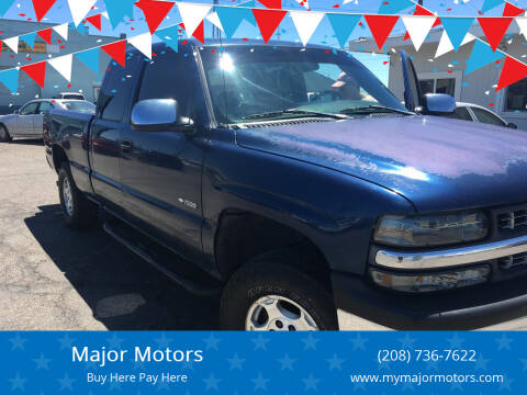 1999 Chevrolet Silverado 1500 for sale at Major Motors in Twin Falls ID