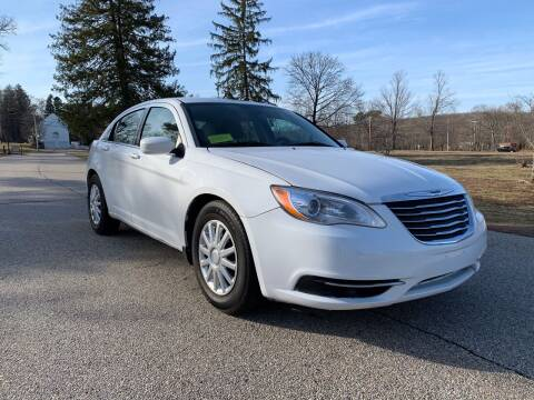 2012 Chrysler 200 for sale at 100% Auto Wholesalers in Attleboro MA