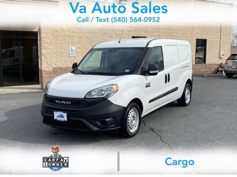 2019 RAM ProMaster City Cargo for sale at Va Auto Sales in Harrisonburg VA