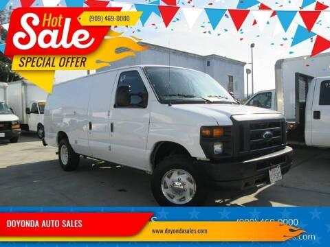 2011 Ford E-Series Cargo for sale at DOYONDA AUTO SALES in Pomona CA