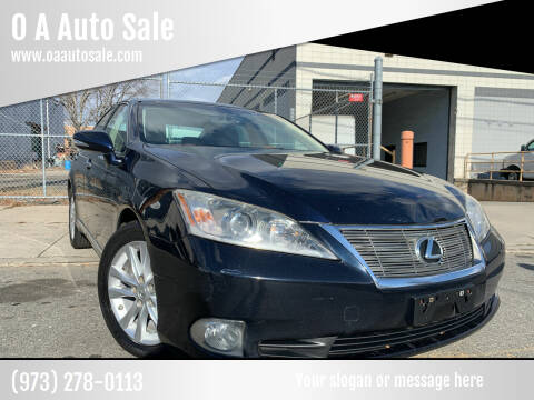 2010 Lexus ES 350 for sale at O A Auto Sale in Paterson NJ