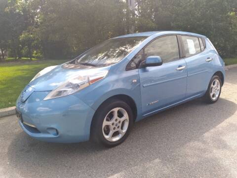 2011 Nissan LEAF for sale at Jan Auto Sales LLC in Parsippany NJ