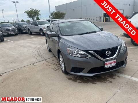 2019 Nissan Sentra for sale at Meador Dodge Chrysler Jeep RAM in Fort Worth TX