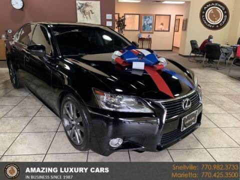 2013 Lexus GS 350 for sale at Amazing Luxury Cars in Snellville GA