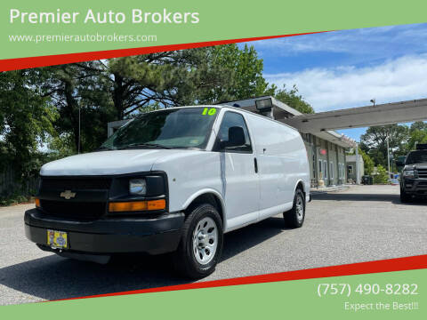 2010 Chevrolet Express Cargo for sale at Premier Auto Brokers in Virginia Beach VA