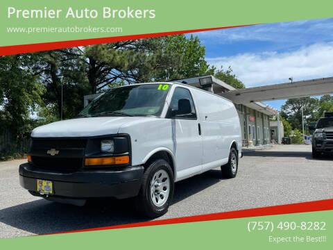 2010 Chevrolet Express Cargo for sale at Premier Auto Brokers in Virginia Beach VA