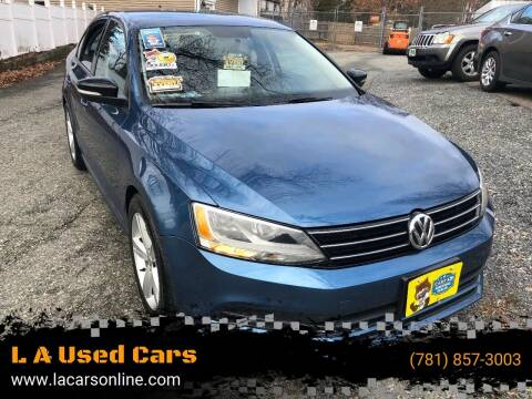 2015 Volkswagen Jetta for sale at L A Used Cars in Abington MA
